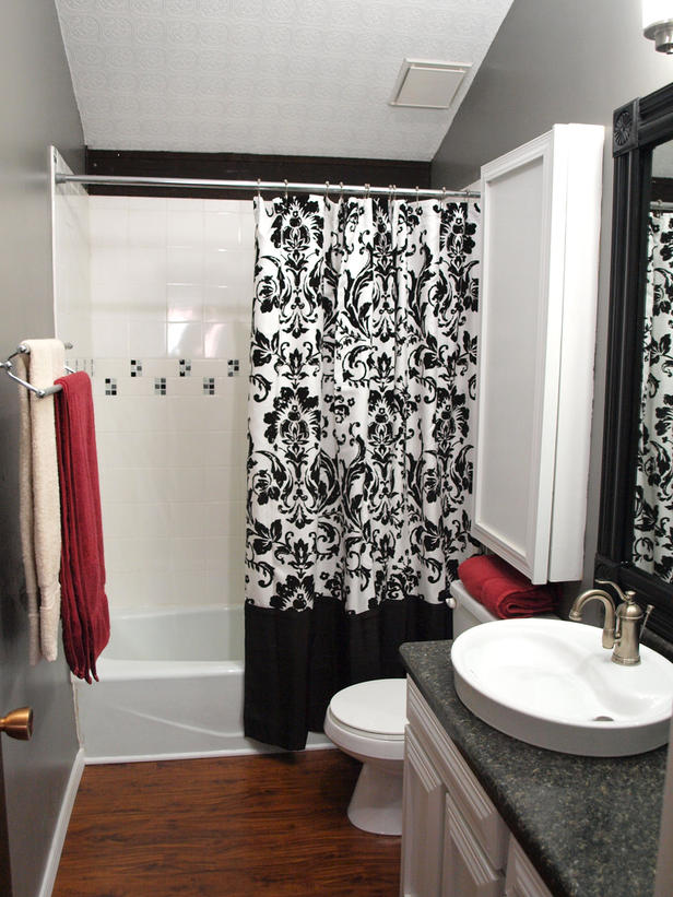 Black And White Shower Curtains Page 02 Rooms Home Garden