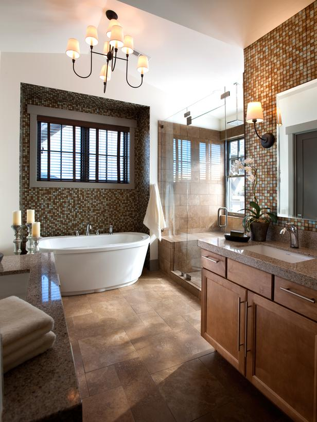 HGTV Dream Home 2012 Master Bathroom Pictures And Video From HGTV