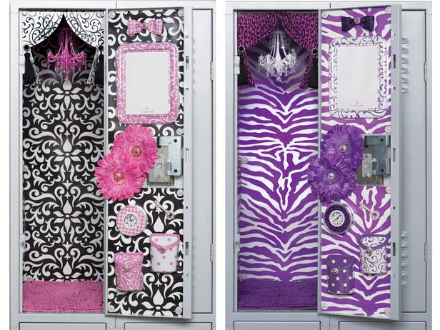 Teen girls can express their personal style at school with decorating ideas and products from LockerLookz