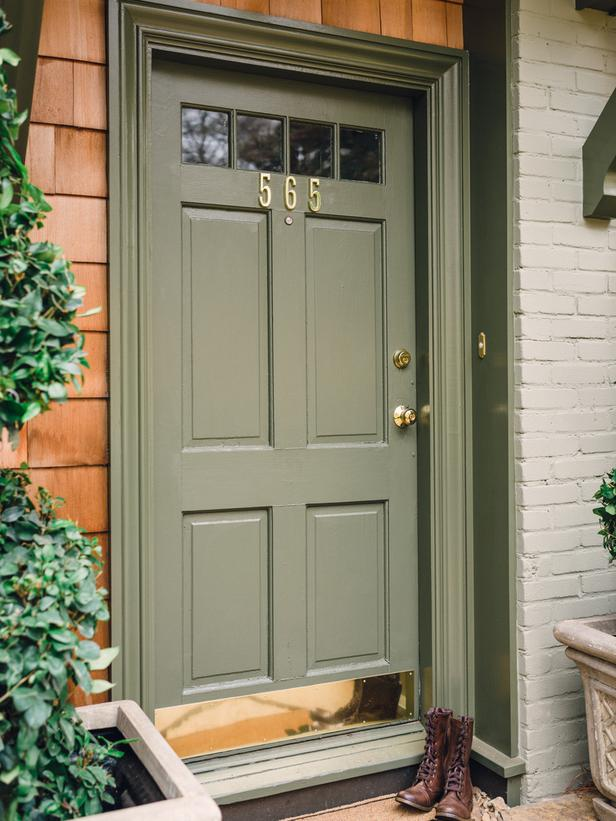Curb appeal ideas page 03 outdoors home garden television - Exterior door paint color ideas property ...