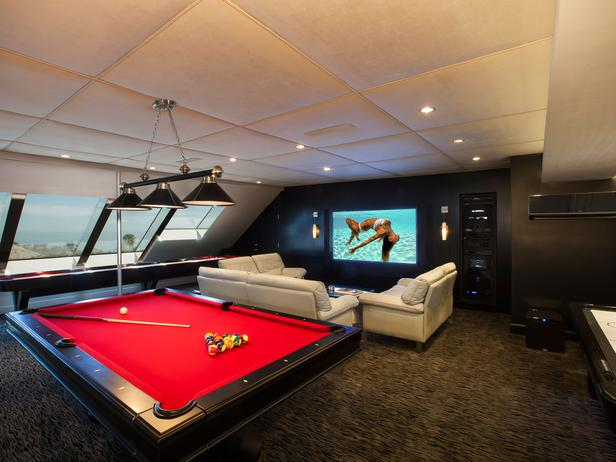 Man Cave Bar California : Chic home mom bonus space ideas so many possibilities